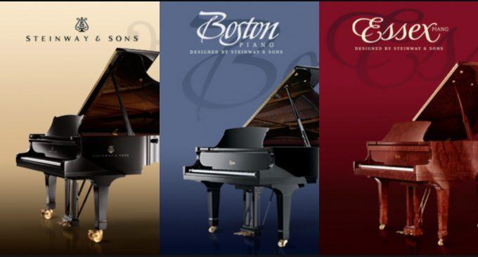 Pianos à queue Steinway Family