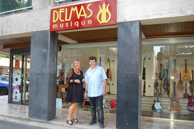 Delmas Musique 201309_commercant_03_delmas- La Maison Delmas s'agrandit Avenue de la Gare