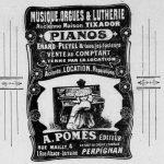 Delmas Musique Affiche-Publicitaire-A.-Pomes-ancien-Tixador-racheté-par-F.-Delmas-150x150 Anna & François Delmas