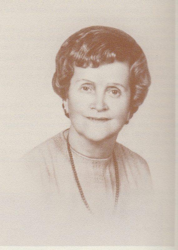 Anita Serra (1904-1981), Epouse de Louis Delmas