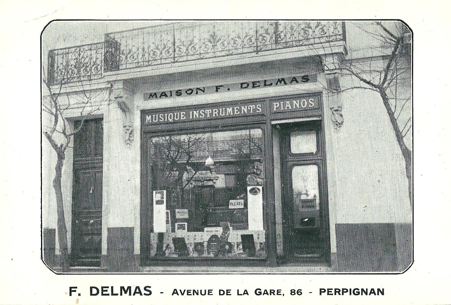Delmas Musique Numériser La Maison Delmas s'agrandit Avenue de la Gare