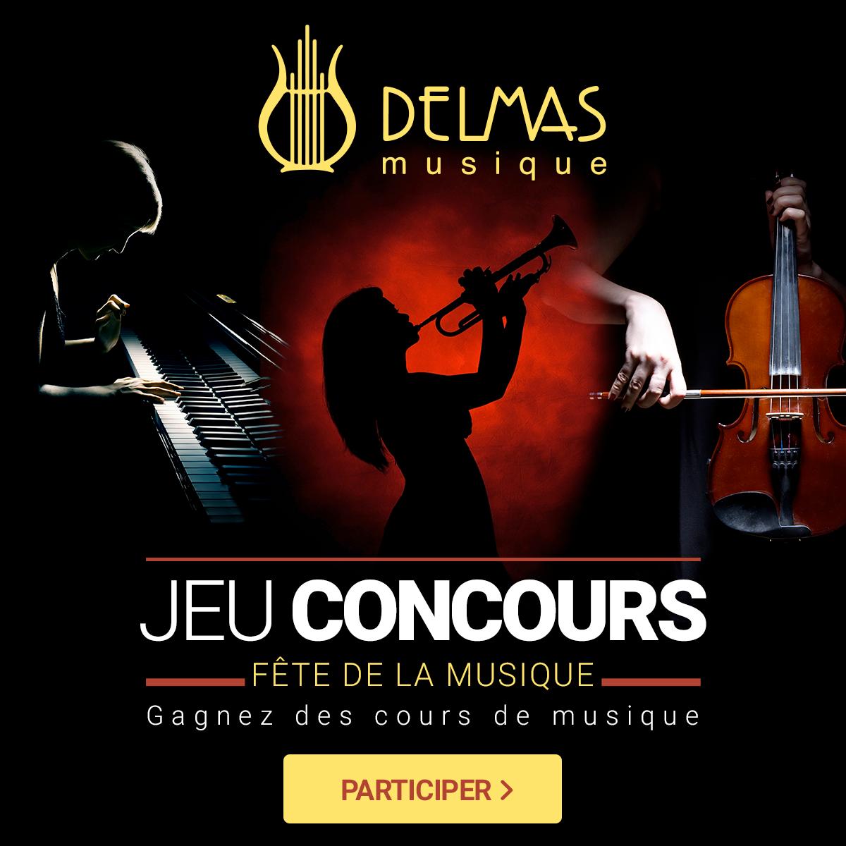 Delmas Musique visuel-FDLM-DELMAS Jeu Concours Fête de la Musique