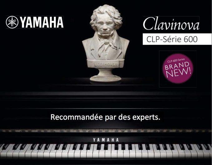 Clavinova CLP 600 Series