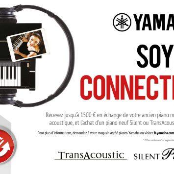 Prime au renouvellement avec les pianos Silent™ et TransAcoustic™ de Yamaha