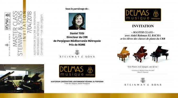 Delmas Musique dépliant_recto-680x374 Master Class Steinway & Sons avec Abdel Rahman EL BACHA