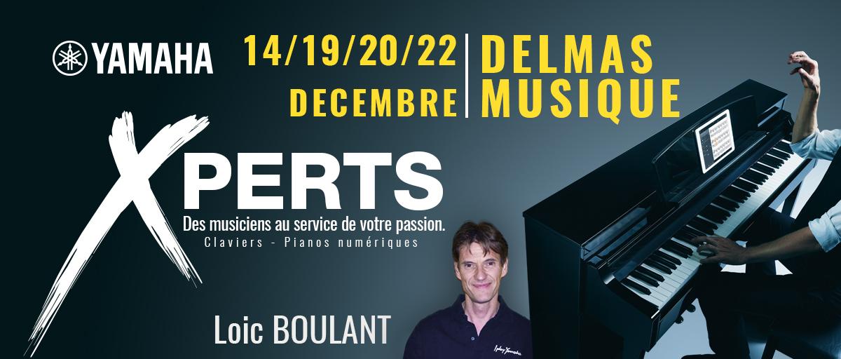 Delmas Musique XPERTS-DELMAS-MUSIQUE Pour Noel, rencontrez notre eXpert YAMAHA en claviers et arrangeurs