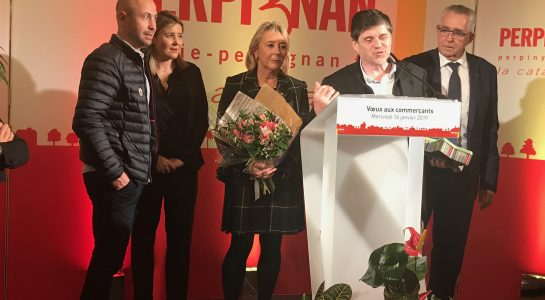 Delmas Musique IMG_4726-545x300 Remise de la médaille de la ville de Perpignan à Mr Amand GOMBERT-DELMAS