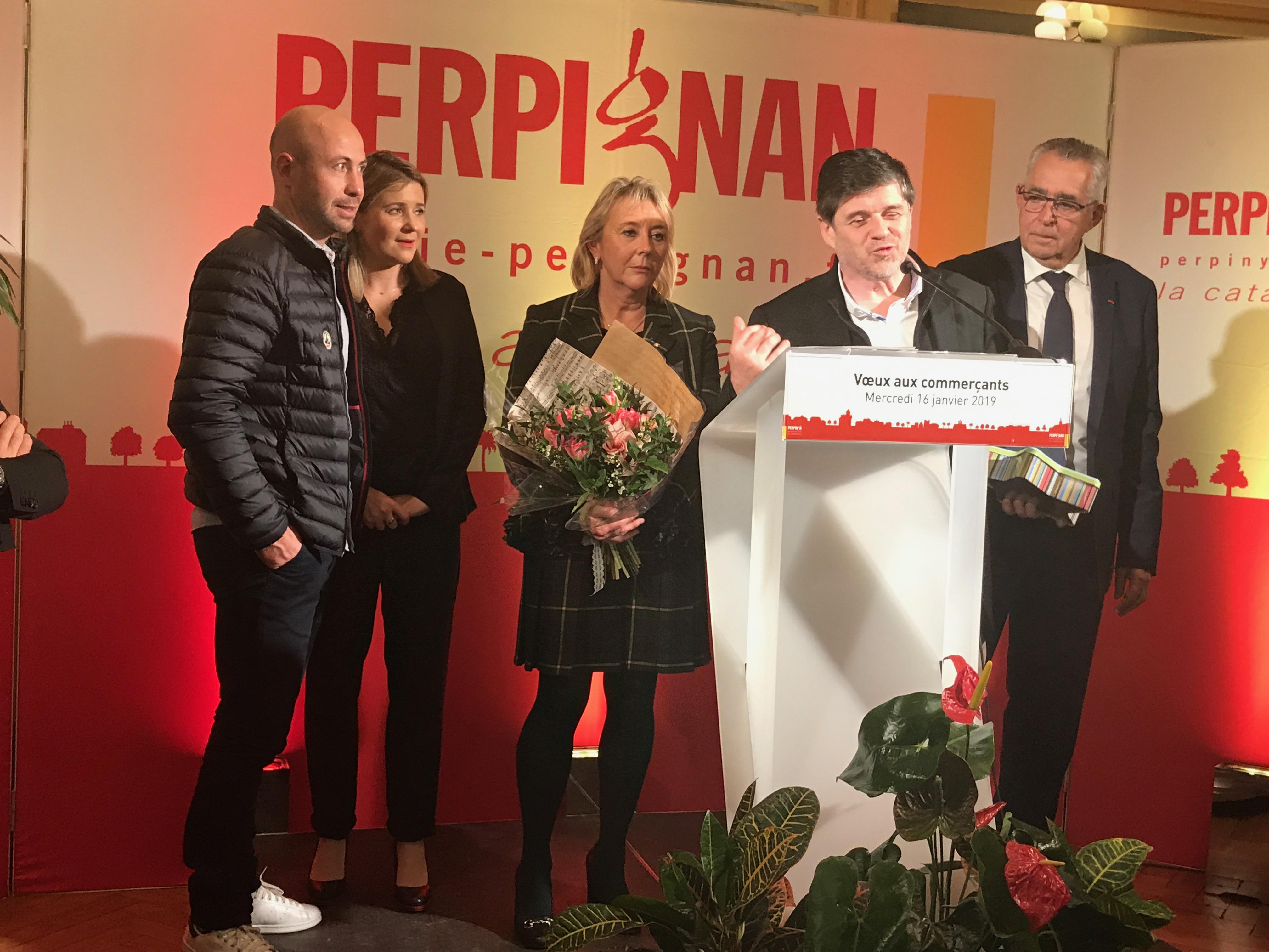 Delmas Musique IMG_4726 Remise de la médaille de la ville de Perpignan à Mr Amand GOMBERT-DELMAS