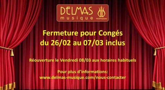Delmas Musique COngésDELMAS-2019-VF-545x300 Congés du 26/02 au 07/03 inclus