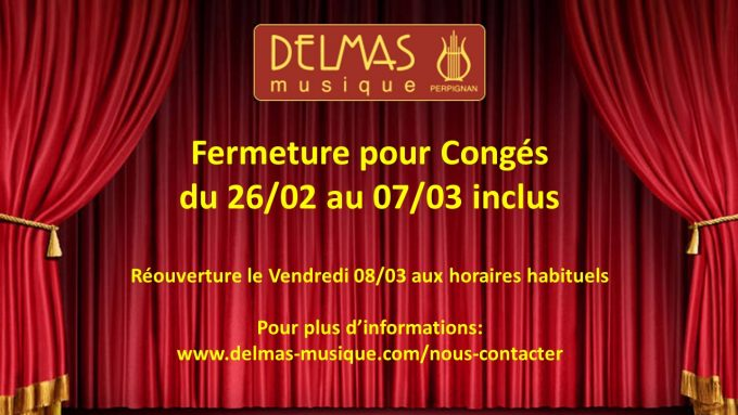 Delmas Musique COngésDELMAS-2019-VF-680x383 Congés du 26/02 au 07/03 inclus