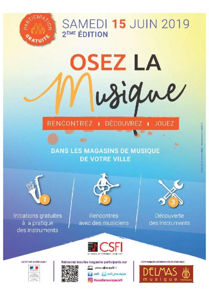 Delmas Musique OLM-publication Osez la musique le 15 Juin 2019 à Perpignan chez Delmas Musique