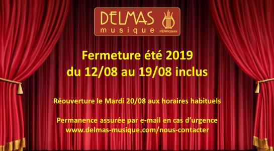 Delmas Musique Congés-DELMAS-été-2019-1-545x300 Fermeture été 2019
