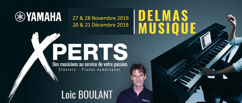Delmas Musique Picture1-1024x436 En cette fin d'année 2019 rencontrez notre Xpert YAMAHA en claviers et arrangeurs