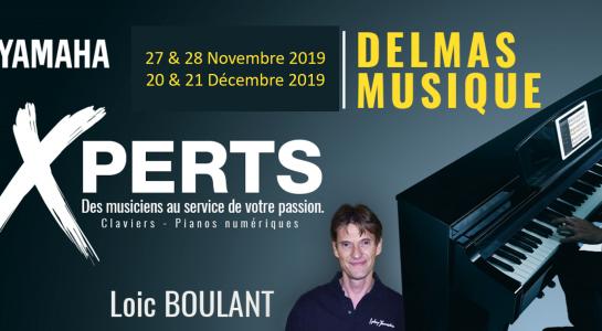 Delmas Musique Picture1-545x300 En cette fin d'année 2019 rencontrez notre Xpert YAMAHA en claviers et arrangeurs
