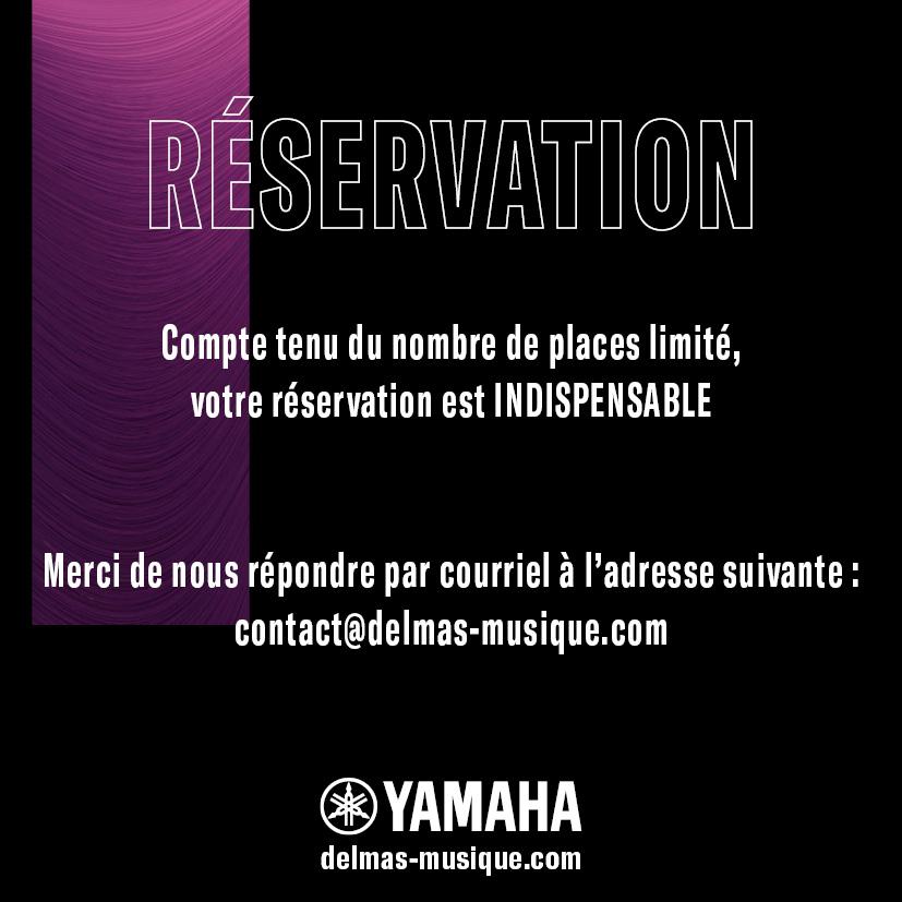 Delmas Musique Invitation_04-1 Soirée Yamaha TransAcoustic™ chez Delmas Musique le 6 Février 2020