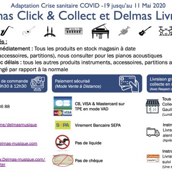 Delmas Click & Collect et Delmas Livraison