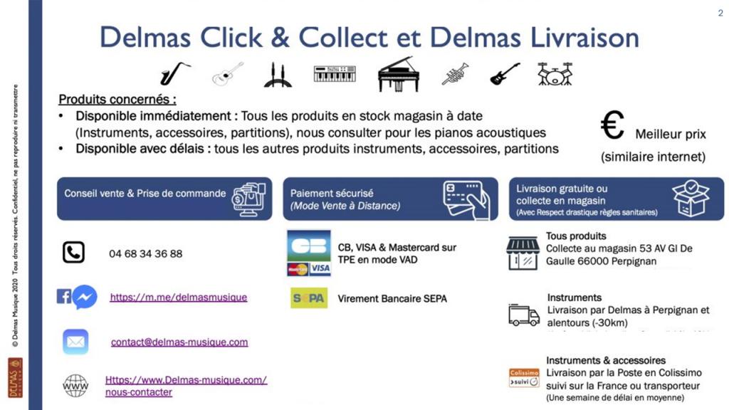 Delmas Musique 2020-05-19-COVID-19-Reouverture-2-1024x576 Delmas Musique de nouveau ouvert + Maintien des livraisons et Click & Collect