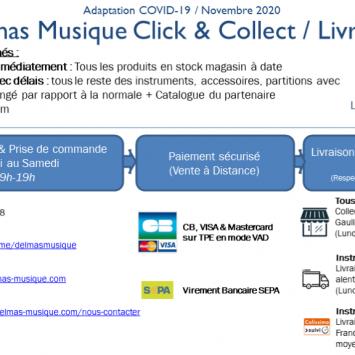 [Confinement] DELMAS Click & Collect & Livraison