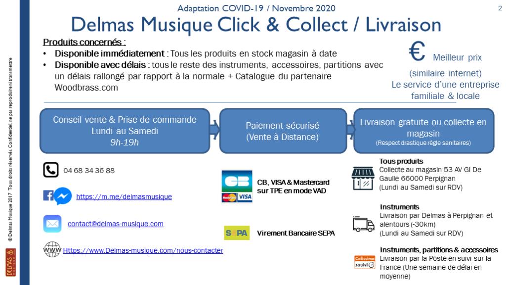Delmas Musique Slide-2-2 [Confinement] DELMAS Click & Collect & Livraison