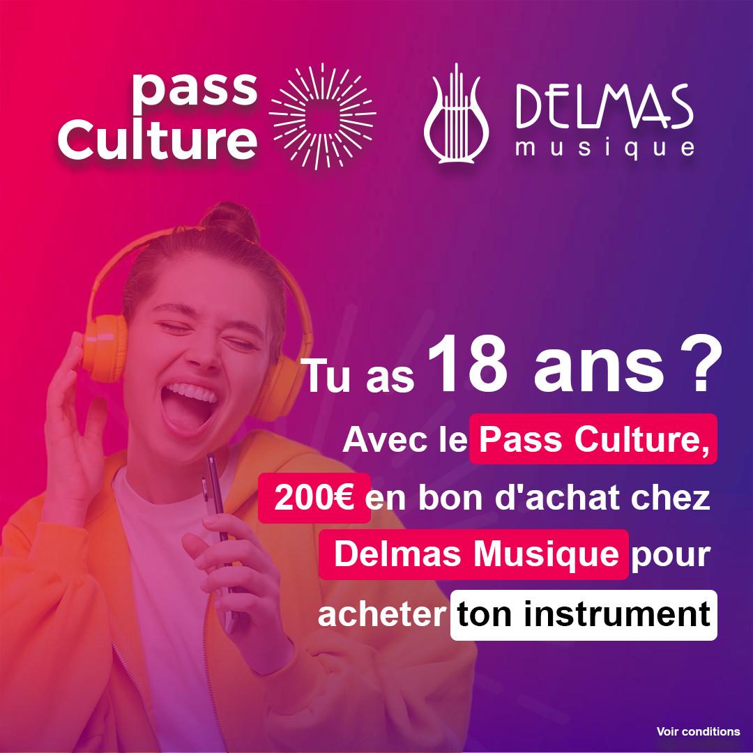 Delmas Musique 197210651_23847770313100057_1880145050287012542_n.png PASS CULTURE CHEZ DELMAS MUSIQUE
